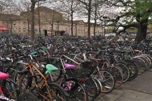Fahrräder in Göttingen