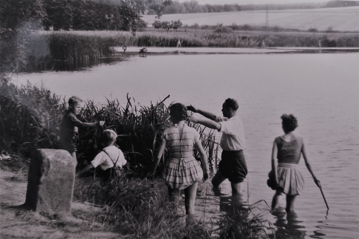 1960er Dorf Baden