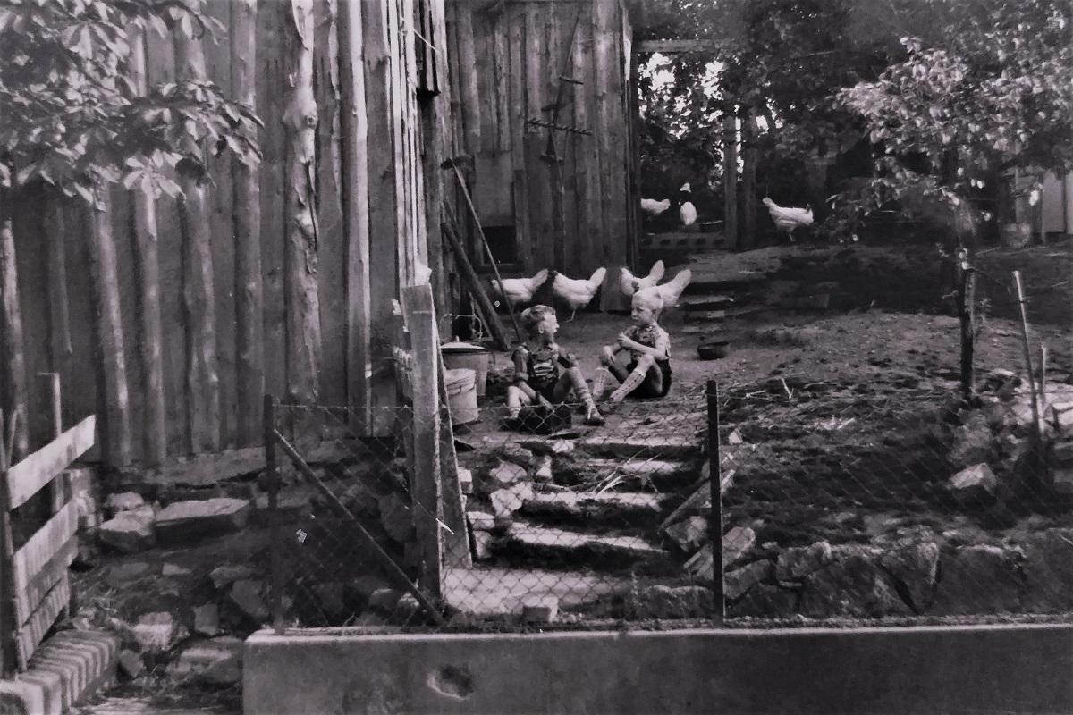 1960er Dorf Landwirtschaft