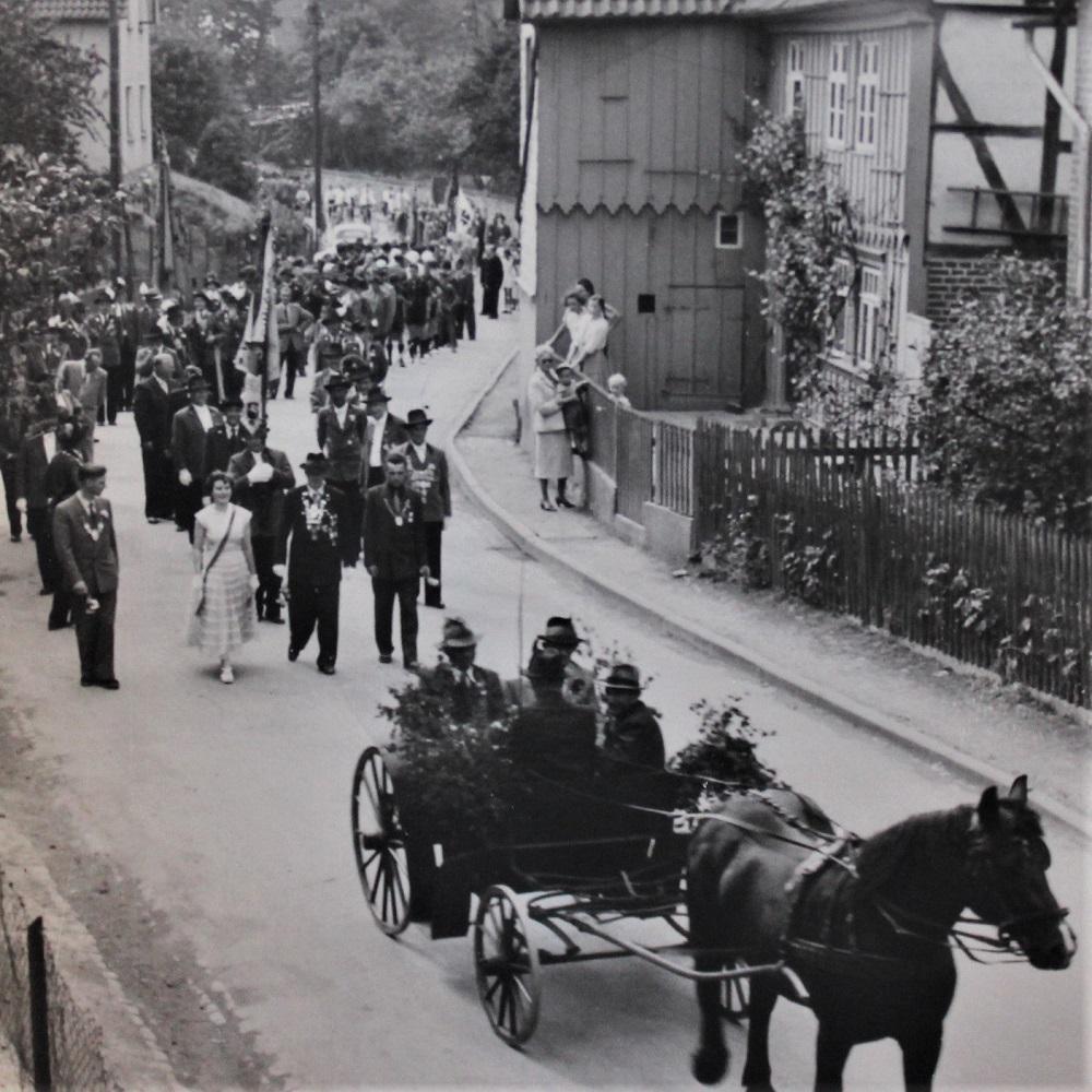 1960er Dorf Schützenfest